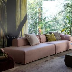 Nspiredのイタリアの再生の骨董品のホテルのロビーの家具の緑のレトロのソファー
