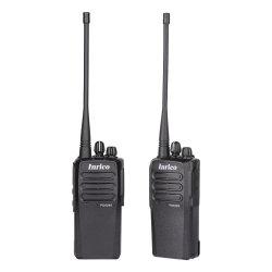 precio de fábrica de ancho de banda VHF portátil Inrico Walkie Talkie
