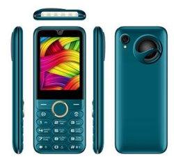 Doppia scheda SIM Bluetooth Sos Dual da 2.8 pollici con vibrazione da 1800 mAh Telefono in standby a lungo termine