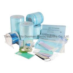 Plano de embalaje sellado en caliente de desechables Bolsas de esterilización rollos