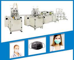 Vollautomatischer HochgeschwindigkeitswegwerfEarloop Ohr-Riemen Repirator atmenventil-faltbare Gesichtsmaske-Produktions-Schablone, die Maschine herstellt