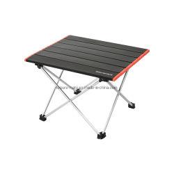 キャンプSのサイズの折りたたみ式テーブルをハイキングする屋外アルミニウム軽量のコンパクトな携帯用釣BBQ