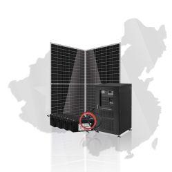 الصين نظام الطاقة الشمسية Fadi الشركة المصنعة 10 كيلو واط للاستخدام المنزلي الهجين نظام الطاقة الشمسية خارج الشبكة CE