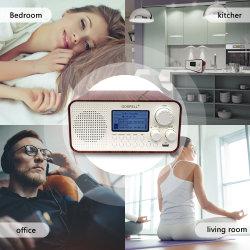 디지털 탁상 조정 라디오 수신기는 전부 공장 가격을%s 가진 우수한 수신을 끈으로 동인다