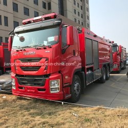 Motor Isuzu Giga de combate a incêndio do veículo motor para venda
