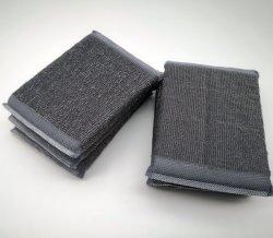 스테인리스 스틸 와이어 스폰지 수선법 및 주방용 스폰지