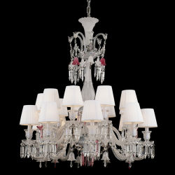 18 лампы роскошь люстра Crystal Reports для украшения
