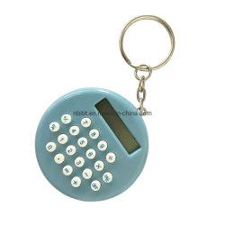 Catena chiave del calcolatore & calcolatori circolari del regalo & calcolatore di 8 Digitahi un mini