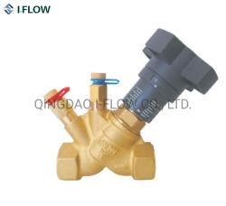 A extremidade rosqueada Bronze Fluxo estática da válvula de compensação fabricante chinês