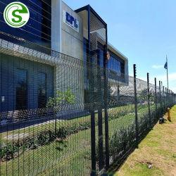 الشركة المصنعة مطلية PVC العسكرية ضد التسلق 358 الجدار الأمني السجن شبكة