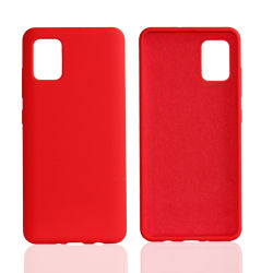 Мобильный телефон случае жидкость Silicne чехол для Samsung A71 A51 S20 Ultra iPhone Se2 силиконовый чехол