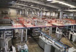 Sjsz110/220 원추형 트윈 나사 Lvt/PVC/WPC/Spc 바닥재 생산 라인/기계 제작/압출 라인/압출기