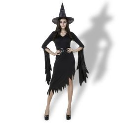 Женщин OEM-участник косплей Колдунья Хэллоуин костюмы