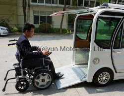 Mini automobile elettrica della sedia a rotelle modificata vendita per /Handicapped Disabled