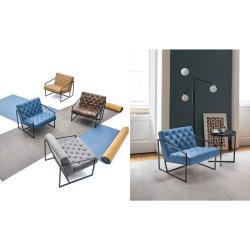 Oficina Salón mesa y silla del vestíbulo (FOH-BTB1)