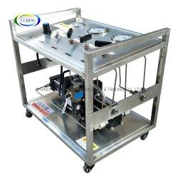 Terekのガスの漏出テストのための高圧圧縮空気のガスの増圧ポンプシステム
