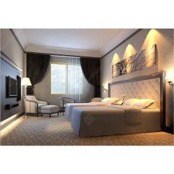 Personalizado económico Hotel fabricante de muebles Muebles de dormitorio cama habitación Habitación de invitados