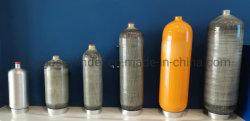أسطوانات الكربون المركبة للأسطوانة الاحتياطية SCBA ذات الأسطوانات سعة 3.0 لترات و300 بار للهواء جهاز تنفس