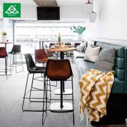 Bar situado Hotel Restaurant mobiliário com estrutura metálica Barstool