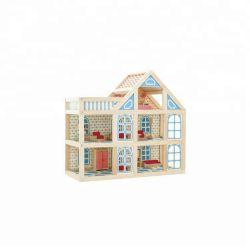 As crianças Dollhouse de madeira para crianças