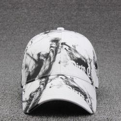 Хлопок черный дым облака белого цвета + Дизайн рекламных Baseball Caps