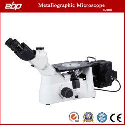 В перевернутом положении кристаллоаморфных консистенций Trinocular Микроскоп E-800 для металлургической промышленности Labs