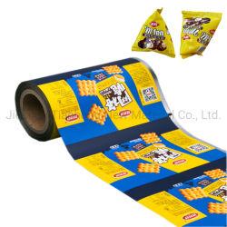 Автоматическая упаковка машины используйте композитный упаковочных пленок для закуски продовольственной упаковки пленки