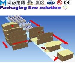 高速食糧はラップアラウンドのケースの包装業者のカートンの水線のためのラップアラウンドのパッキング機械できる