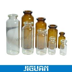 ステロイドのための卸し売り2ml 3ml 5ml 10mlのアンプルのガラスガラスびんの薬のガラスビンのこはく色のゆとり10mlの生殖不能の注入のガラスびんの薬剤のガラスガラスびん