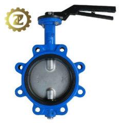 دليل صناعي جيد السعر يعمل DN100 مركز ضغط منخفض صمام الفراشة