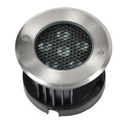 低電圧12V 24V地下IP68は庭の景色のための引込められた屋外RGB LED Inground健康なライトを防水する