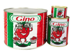 Pasta di pomodoro biologica Pasta di pomodoro in scatola facile da aprire