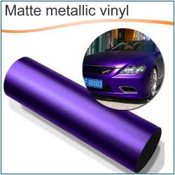 Matte Metalliccar Body Wrapping Vinyl Film met luchtbellenvrij