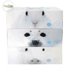 La pulpa de papel reciclado tejido Facial facial de la pulpa de madera pañuelo de papel