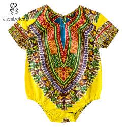 Nouveau mode d'Afrique de gros chaud Dashiki Romper Bébé