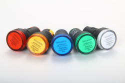 Hochleistungs-LED DC-Anzeigeleuchte 22 mm Anzeige