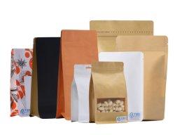 طعام حسب الطلب ورقة رخيصة أكياس ورق مصنعين مع زبر