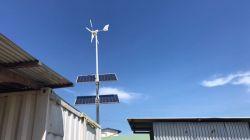 Vent Hepu/système d'alimentation hybride solaire 2kw Rue lumière à LED