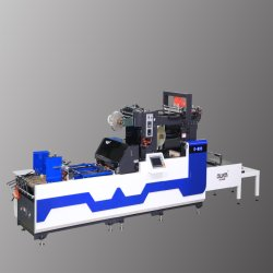 G-800/1080 Janela de alta precisão automática de patches a máquina com linha de Vincagem