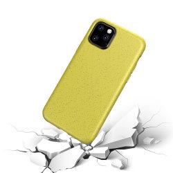Eco Friendly compostables TPU souple la paille de blé en caoutchouc de silicone cas Téléphone biodégradables pour Samsung S20 avec S20 ultra