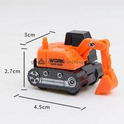 Modelo de camión de plástico pequeño juguete /4.5cm Navvy Turk juguete para niños modelo