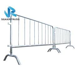 Estrada temporária de controlo de multidões de sistemas de barreira/ barreiras policiais de Controle