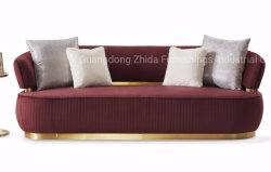Роскошный мебели вид в разрезе дома гостиную мебелью ткань диван,