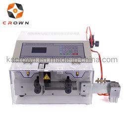 Entièrement automatique Machine à couper la bande de câble plat câble ruban de refendage en machine de dénudage de fil de découpe