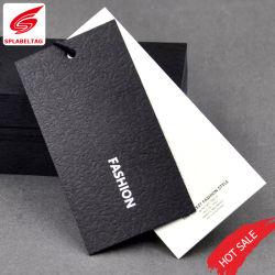 Rótulo Personalizado Hangtag de boa qualidade para o saco de Roupa Hat Calçados