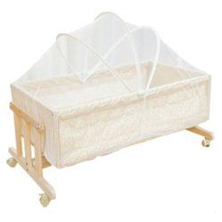 Culla di legno poco costosa ecologica della greppia del bambino della mobilia della camera da letto dei capretti