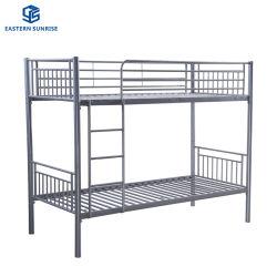 Scuola Dormitorio stoccaggio doppio strato Twin Bed metallo Bunk in acciaio Letti