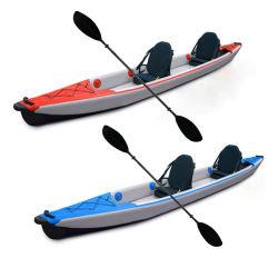 Быстрая доставка, полная вышивка, плоская, 4,70 м, двойные Seaters Tandem Рыбалка Каяк