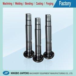 カスタム鋼鉄シャフト、OEM CNCの精密またはスペアーまたは製造装置または機械または機械か機械で造られるか、または機械化の部品または製品、コンポーネントまたはサービス金属の処理