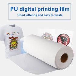 Precios baratos de las transferencias de impresión de pantalla de impresión PVC blando Flex PU imprimible Sticky no desapareció Vinylo Anti sublimación Textil Vinilo para la transferencia de calor camiseta
